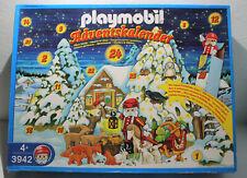 Playmobil Adventskalender 3942 Weihnachtsmann viele Waldtiere OVP u Anleitung