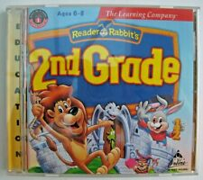 Reader Rabbit 2nd Grade - Learning Creations Ages 6 -8. Learning Company CD VGC