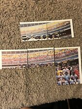 (6) 1977 Topps Baseball Patches Unmarked Checklist Card Lot w/ FINGERS FIDRYCH