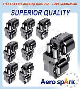8 Set Ignition Spark Coils UF359 For Mercedes-Benz C CL CLK ML