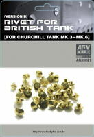 AFV Club 1/35 Rivet (Version B) for Churchill III to VI AG35021