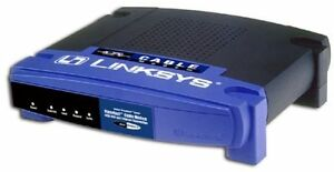 Linksys BEFCMU10 42.88 Mbps Cable Modem USB & Ethernet Connection Wired