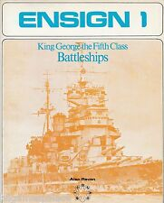 Ensign 1 King George V class Battleships (Bivouac 1972 1st) Alan Raven