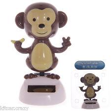 Novità Solar Powered DANCING Monkey, dashboard giocattolo, casa o auto