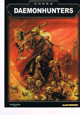 Warhammer 40.000 Codex Daemonhunters SC