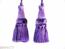 FRENCH STYLE TASSELS PURPLE HOME DECORATION REALLY CHIC NEW