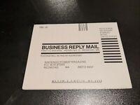 OOP NINTENDO POWER Subscription Order Form Insert Card NES Vintage RARE