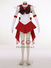 Ready Ship~ Best Sailor Moon Super S Mars Rei Hino Raye Cosplay Costume mp001407