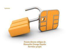 Liberar BLACKBERRY ORANGE ESPAÑA!UNLOCK TODOS LOS MODELOS!!!FAST!!