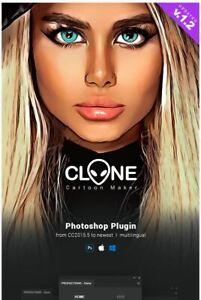 Photoshop plugin Cartoon Maker - Clone - Photoshop Plugin