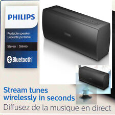 Philips BT3080B/37 Wireless Bluetooth Stereo Speaker Black New Sealed