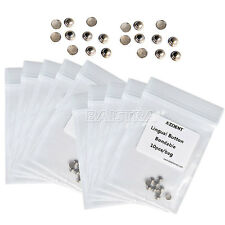 10 Bags AZDENT Dental Orthodontics Bondable Lingual Buttons Round Base Stainless