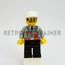 LEGO Minifigures - 1x fire001 - Fire Chief - Pompiere Omino Minifig Set 6478