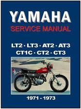 YAMAHA Workshop Manual LT2 LT3 CT1 CT2 CT3 AT1 AT2 AT3 1971 1972 & 1973 Service