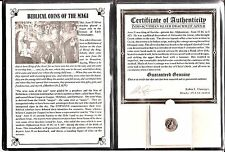 ANCIENT Biblical Coin of The Magi,Silver,35 BC-5 AD,With Album & Certificate