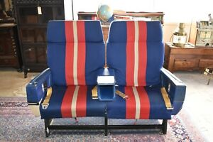 Mid Century American Airlines Plane Seats, Movie Theatre Seating, Office Chairs