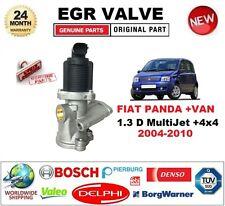 FOR FIAT PANDA +VAN 1.3 D MultiJet +4x4 2004-2010 EGR VALVE 2-PIN D-SHAPE PLUG