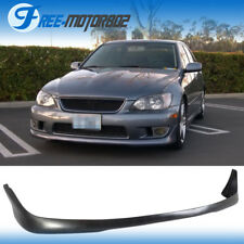 For 01-05 Lexus IS300 Altezza Sxe10 TR Style Front Bumper Lip Urethane