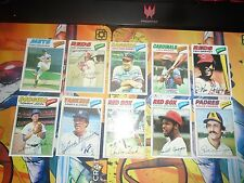 1977 Topps Baseball 17 Card Lot Seaver Griffey Fisk Schmidt + More