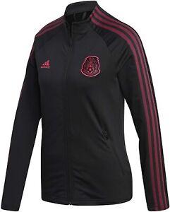 Adidas Women's Mexico National Team Anthem Jacket, Black