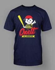 The Onett Sluggers T-Shirt Ness Earthbound Tee Tshirt Navy Blue