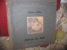 FABRIZIO DE ANDRE'- ANIME SALVE - BOXSET - LP - VINILE-1996/2006-LIMITED EDITION