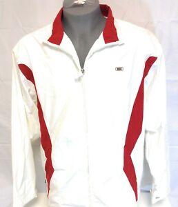 Mens Vintage Nike Jordan AF1 Air Force 1 2008 White 323604 101 Zip Up Jacket