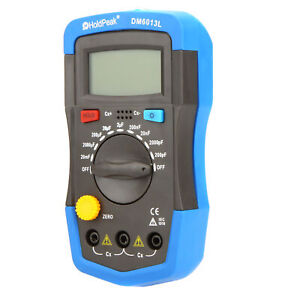 Digital Capacitance Meter Capacitor Tester 1999 Counts LCD with Backlight R4H3