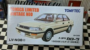 TOMICA LV-N08c TOYOTA COROLLA 1500SE LIMITED 1:64 SCALE LIMITED VINTAGE NEO