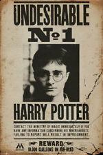 Hochformat Filmposter mit Harry Potter