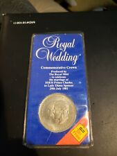VINTAGE Crown Royal Mint Coin 1981 Wedding Prince Charles Lady Diana