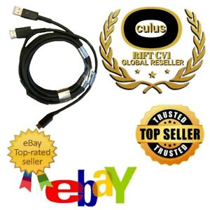 NEW OEM Replacement Cable for Oculus Rift CV1 Headset * READ DESCRIPTION