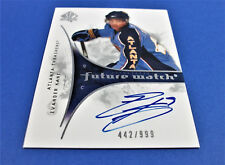 09-10 SP AUTHENTIC EVANDER KANE FUTURE WATCH ROOKIE SIGNATURE RC #/999 SHARKS
