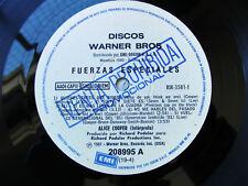 ALICE COOPER PROMO LP Special Forces SOUTHAMERICA ED. Fuerzas Especiales 1981