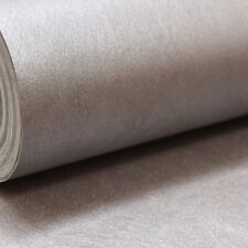 Erismann Premium Thick Quality Plain Metallic Brown Bronze Shimmer Wallpaper