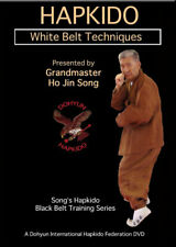 Song's Hapkido White Belt Techniques Martial Arts Training 1 Dvd B571