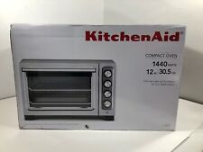 KitchenAid KCO253CU 12-Inch Compact Counter Top Convection Oven Stainless Steel