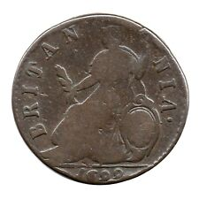 More details for km# 503 - halfpenny - william iii - england - great britain 1699 (fair)