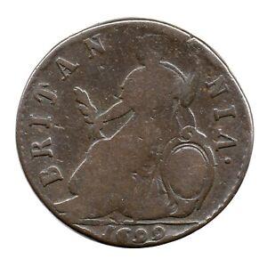 KM# 503 - Halfpenny - William III - England - Great Britain 1699 (Fair)