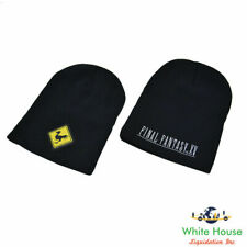 Final Fantasy XV Limited Edition Black Beanie Hat 100% Acrylic (Black)