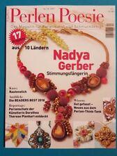 Perlen Poesie Das Magazin für Perlenkunst und Schmuckdesign Nr.34/2017 ungelesen
