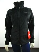 NWT Womens The North Face Osito 2 Midweight Soft Fleece Full Zip Jacket - Black