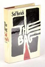 FIRST EDITION 1968 THE BAG SOL YURICK AUTHOR OF THE WARRIORS HARDCOVER w/DJ