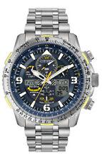 NEW Citizen Eco-Drive JY8101-52L Blue Angels Skyhawk AT Titanium 45mm Watch