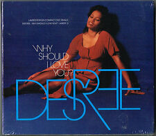 "DESREE - 5"" CD - Why Should I Love You? LIMITED EDITION SEALED PACK"