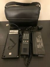 Vintage Motorola Car Phone With Bag SCN2453A - Preowned