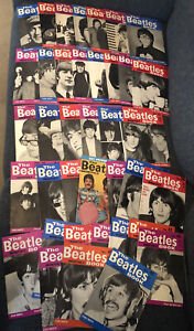 The Beatles Monthly Magazine 38 Issues 1964-1967 Excellent Condition Original