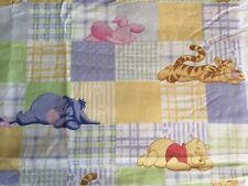 SLEEPY POOH & PIGLET Cotton Fabric - 3 yards - Sewing Quilting Cutter Material