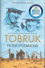 LK NEW Tobruk by Peter Fitzsimons Kokoda Author WWII History Classic