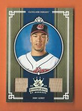2005 DIAMOND KINGS SILVER JODY GERUT GAME-USED DUAL BAT #d 040/100 INDIANS